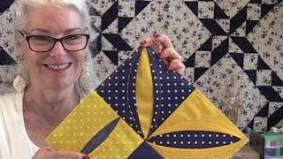 Download How to Make a Folded Quilt Block Video