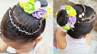 Download Peinados para niñas trenzas con dona Video