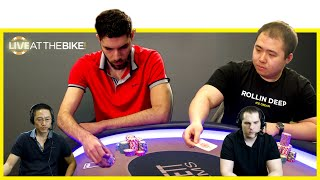 Download WPT Champ Art Papazyan Plays Another Huge Pot With Clayton ♠ Live at the Bike! Video