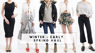 Download WINTER - EARLY SPRING Clothing Try On Nordstrom Fashion Haul | Miss Louie Video