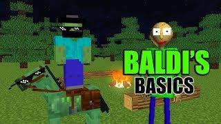 Download Monster School : BALDI'S BASICS FIELD TRIP - Minecraft Animation Video