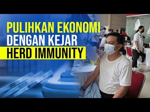 Kejar Herd Immunity, Gapai Pemulihan Ekonomi