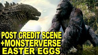 Download Kong Skull Island Post Credits Scene Explained And Monsterverse Easter Eggs And References Video