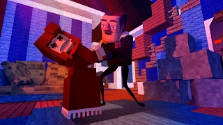 Download Minecraft - MY DEAD WIFES ANNIVERSARY!? (Hello Neighbor in Minecraft) Video