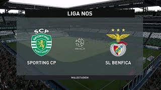 Download ⚽️ Sporting vs Benfica ⚽️ | Liga NOS (17/01/2020) | Fifa 20 Video