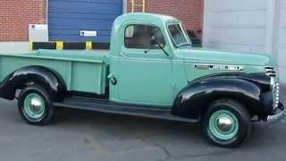 Download RARE! 1947 GMC 1/2 Ton Pickup Truck Restored Video