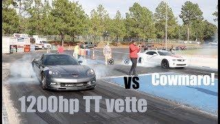 Download 1200hp Twin Turbo Corvette VS the COWMARO Video