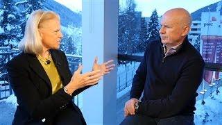 Download IBM CEO: AI Will Be Man and Machine, Not Man vs. Machine Video
