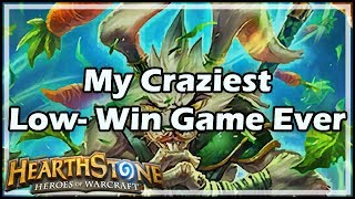 Download [Hearthstone] My Craziest Low-Win Game Ever Video