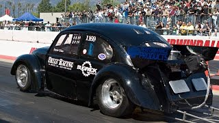 Download VW Outlaw Turbo drag racing, HotVWs Drag Day March 2010 Video