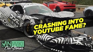 Download Is crashing a Ferrari the best way to launch a YouTube channel? Video