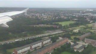 Download HD Landing at Copenhagen Airport AF A318 Video