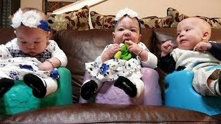 Download One Week After Couple Adopts Triplets, Their Doctor Gives Them This Incredible News Video