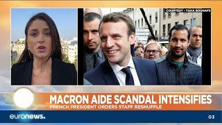 Download Macron Aide Scandal Intensifies: French President orders staff reshuffle Video
