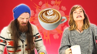 Download People Try Coffee For The First Time Video