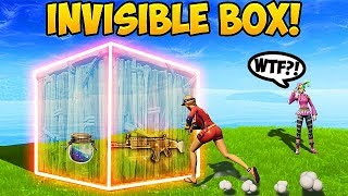 Download BIGGEST NOOB vs. INVISIBLE BOX! - Fortnite Funny Fails and WTF Moments! #278 (Daily Moments) Video