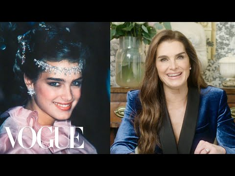 Brooke Shields Breaks Down 12 Looks From 1978 to Now | Life in Looks | Vogue