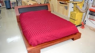 Download 197 - Platform Bed (Part 4 of 4) - Hardware, Supports, & Finish Video