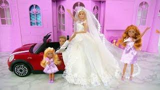 Download Barbie I Can Be A Bride Wedding Gift Set Wedding Dress Barbie gaun pengantin Vestido de casamento Video
