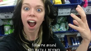 Download FOLLOW ME AROUND BED, BATH, & BEYOND Video