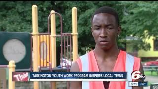 Download Tarkington youth work program inspires local teens Video