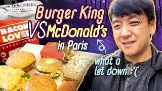 Download McDonalds vs Burger King in Paris France, WORST FAST FOOD Meal! Video