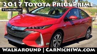 Download 2017 Toyota Prius Prime | Walkaround & Charging | CarNichiWa Video