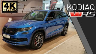 Download 2019 ŠKODA KODIAQ RS (vRS) Walkaround Review (4K) Video