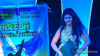 Download Actress SEMBA (manasa) stage performance with ABEEBA dance academy for lala kada santhi song Video