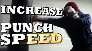 Download How to Increase Your Punching Speed - Get Faster Punches! Video