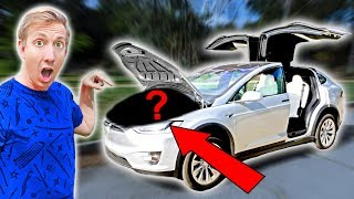 Download FOUND $10,000 MYSTERY BOX IN ABANDONED TESLA (Treasure Hunt Adventure Challenge) Video