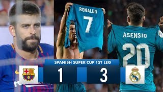 Download Barcelona 1-3 Real Madrid HD 1080i (Spanish Super Cup) Full Match Highlights 13/08/17 Video