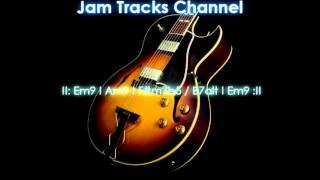 Download Smooth Jazz Guitar Backing Track (Em) Video