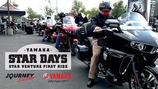 Download 2018 Yamaha Star Venture – V-Twin – First Ride Response Video
