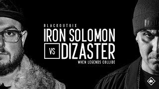Download KOTD - Rap Battle - Iron Solomon vs Dizaster | #BO6ix Video