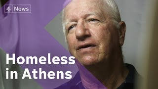 Download Homeless in Athens pushed deep into poverty after bailouts end Video