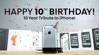 Download iPhone Turns 10 Years Old! A Nostalgic Look Back Video