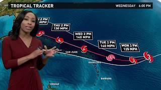 Download Hurricane Irma Outlook for Sunday, September 3, 2017 Video