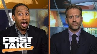 Download Stephen A. Smith fired up over Michael Jordan's superteam comments | First Take | ESPN Video
