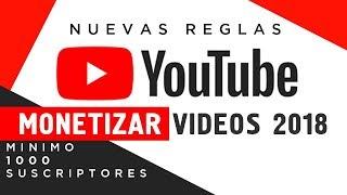 Download Youtube monetizar vídeos 2018 ( Nuevas reglas ) Video