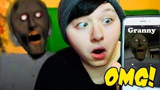Download DON'T CALL GRANNY HORROR !! *OMG SHE CAME TO MY HOUSE* Video
