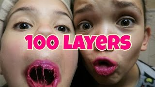 Download 100 LAYERS OF LIQUID LIPSTICK | LIPSENSE Video