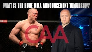 Download Huge Announcement Tomorrow with GSP, Bjorn Rebney, Donald Cerrone & More - Fighter Union? Video