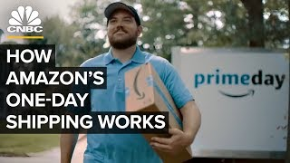 Download How Amazon Makes One-Day Shipping Happen For Prime Day Video