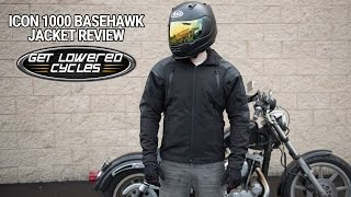 Download Icon 1000 Basehawk Jacket Review - GetLowered Video