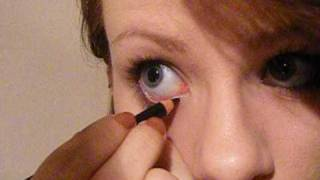 Download How To: Apply Eyeliner to Your Waterline and Upper Waterline Video