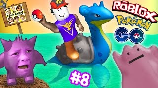 Download ROBLOX #8: POKEMON GO GET THAT LAPRAS! Banana Smash Your Face! (FGTEEV Gameplay) Video