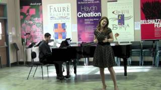 Download 2012: Nicole Car, soprano. The first audition. Video
