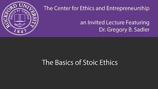 Download The Basics of Stoic Ethics Video