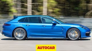 Download Porsche Panamera Turbo Sport Turismo review | A practical 541bhp V8? | Autocar Video
